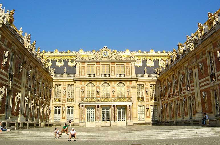 Cour de marbre : Château de Versailles
