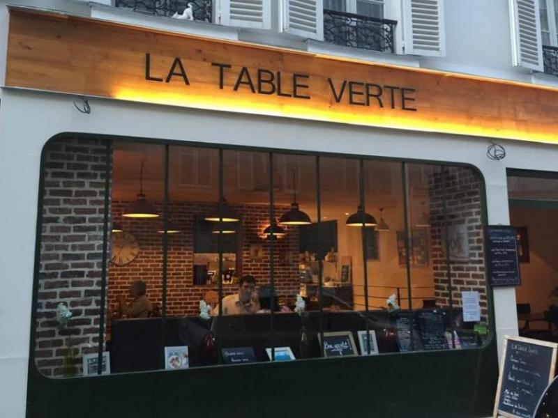 Restaurant Bio La Table Verte à Paris
