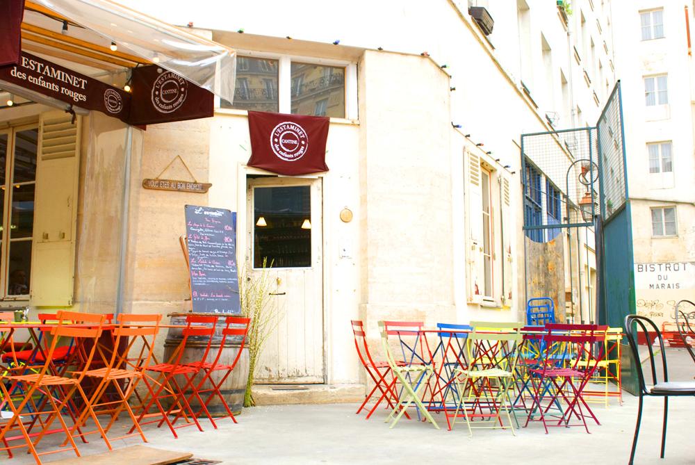 L'Estaminet, restaurant apprécié et coloré