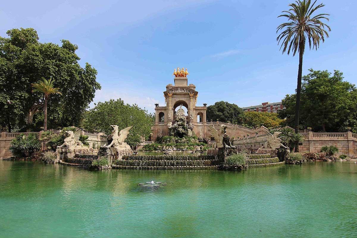 Parc de la citadelle à Barcelone