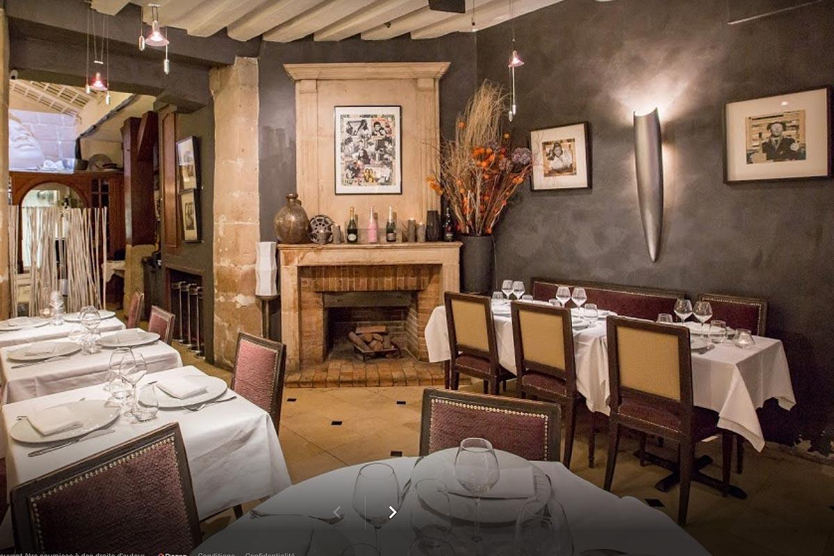 Restaurant l'Orangerie sur l'île Saint-Louis