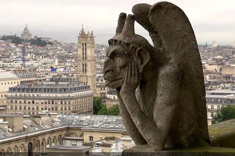 Chimères Notre Dame : La Stryge