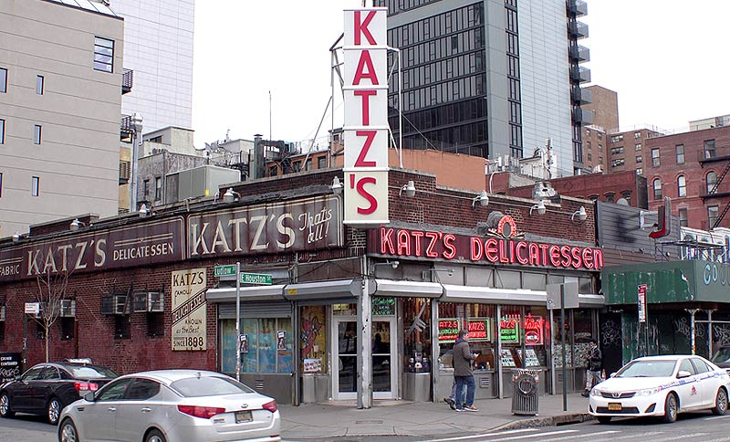 Restaurant Katz's Deli : Quand Harry rencontre Sally