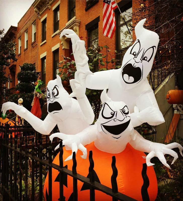 Les maisons hantée à New-York pour célébrer Halloween