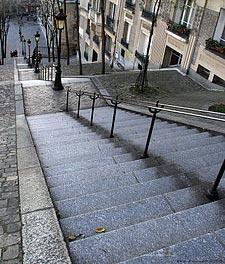 Une ruelle de Montmartre