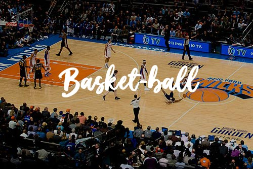 Match des Knicks au Madison Square Garden
