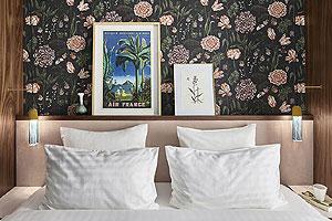 Les chambres de l'hôtel Taylor