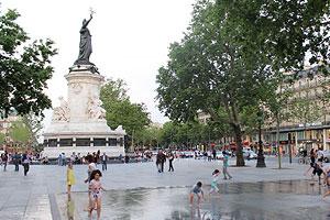 Place de la République à Paris