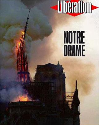 Incendie de Notre Dame de Paris