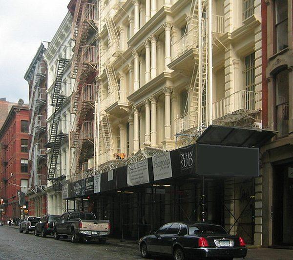 Greene Street : Quartier de SoHo à New York